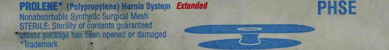 Prolene Mesh Ethicon Prolene Hernia System Amp Prolene 3d