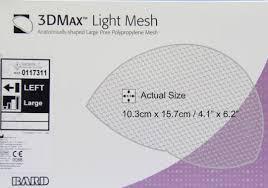 3DMax hernia mesh settlement
